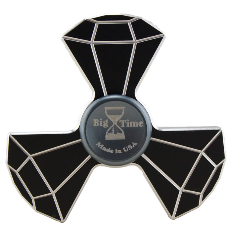 custom metal fidget spinner