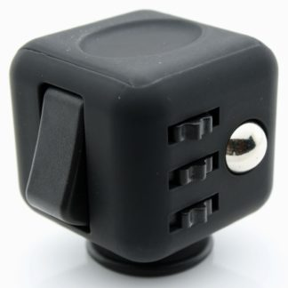 Fidget Cube Black With Black Buttons