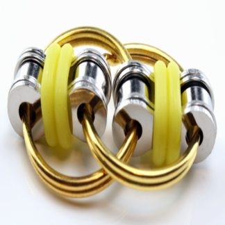 flippy chain fidget yellow
