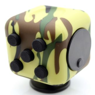 Fidget cube 6 sided Green Camo