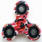 Fidget Spinner Pink Camo